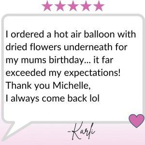 Gmah's Balloons Testimonial (4)