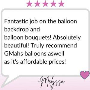 Gmah's Balloons Testimonial (5)