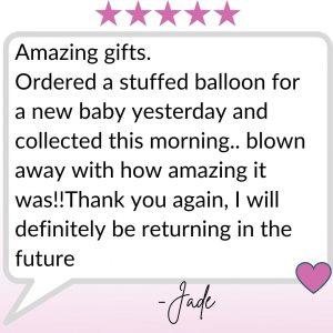 Gmah's Balloons Testimonial (8)